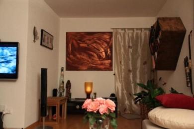 Bild: Kupferstrich 1,20 m x 1,00 m